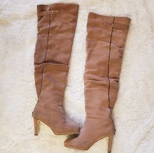 💲💲💲👢Suede Thigh-high Boots👢